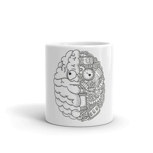 Fred in BrainTech - Mug - Techno Is The Answer