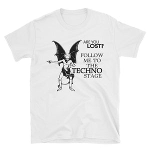 Are You Lost? - Mens Shirt - Techno Is The Answer