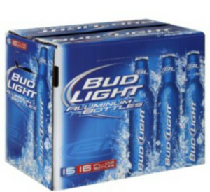 Bud Light 12pk Aluminum