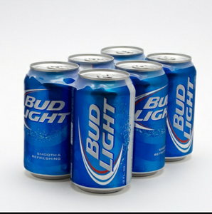 Bud Light 6pk cans