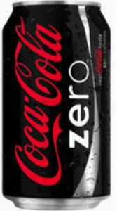Coke Zero Single  Can