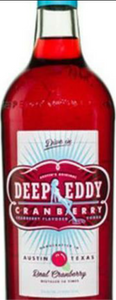 Deep Eddy's Cranberry 750ML
