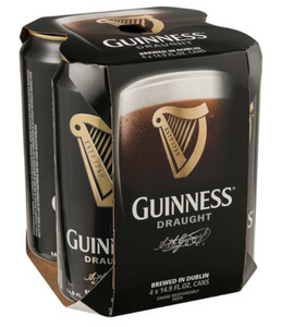 Guinness Draught 4PK Cans