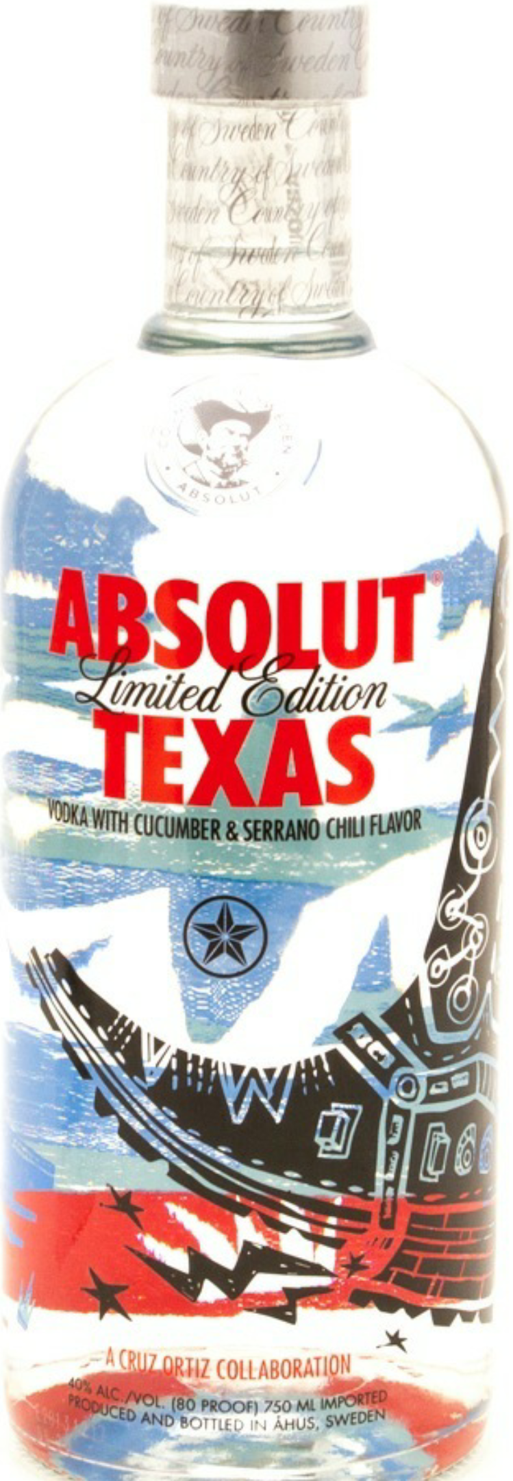 Absolut Texas Cucumber 750ml
