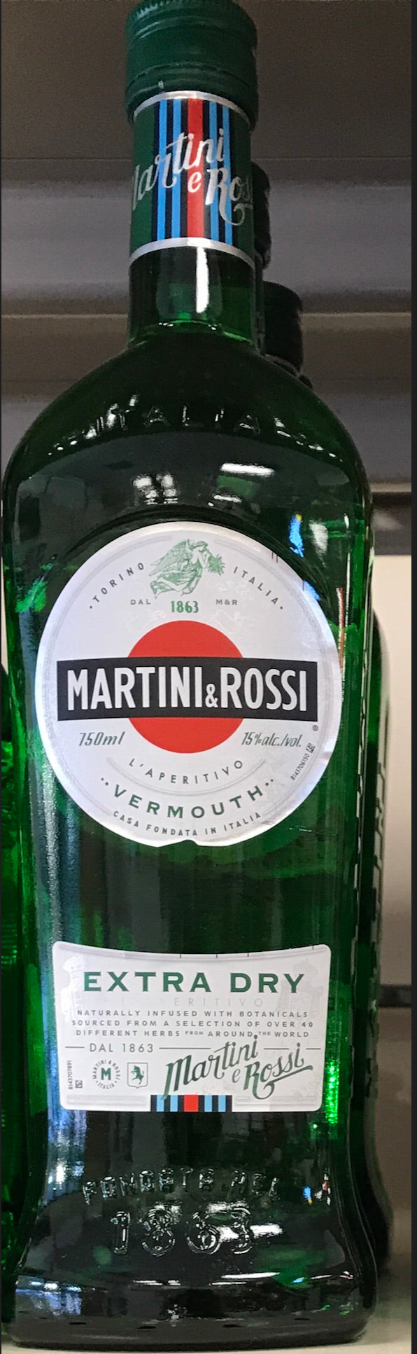 Martini & Rossi Extra Dry Vermouth 750ML