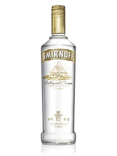 Smirnoff Whipped Cream 750ml