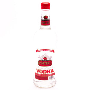 Potter's Vodka 750ML