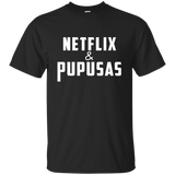 Netflix and Pupusas - Camiseta Unisex