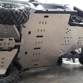 Full Aluminum Skid Plate Kit Canam X3 MAX 2017-2019 - AFXMotorsports your source for ATV/UTV Accessories, bumpers, skid plates, doors, roof racks and more.