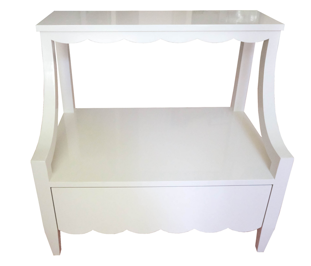 Scallop Nightstand