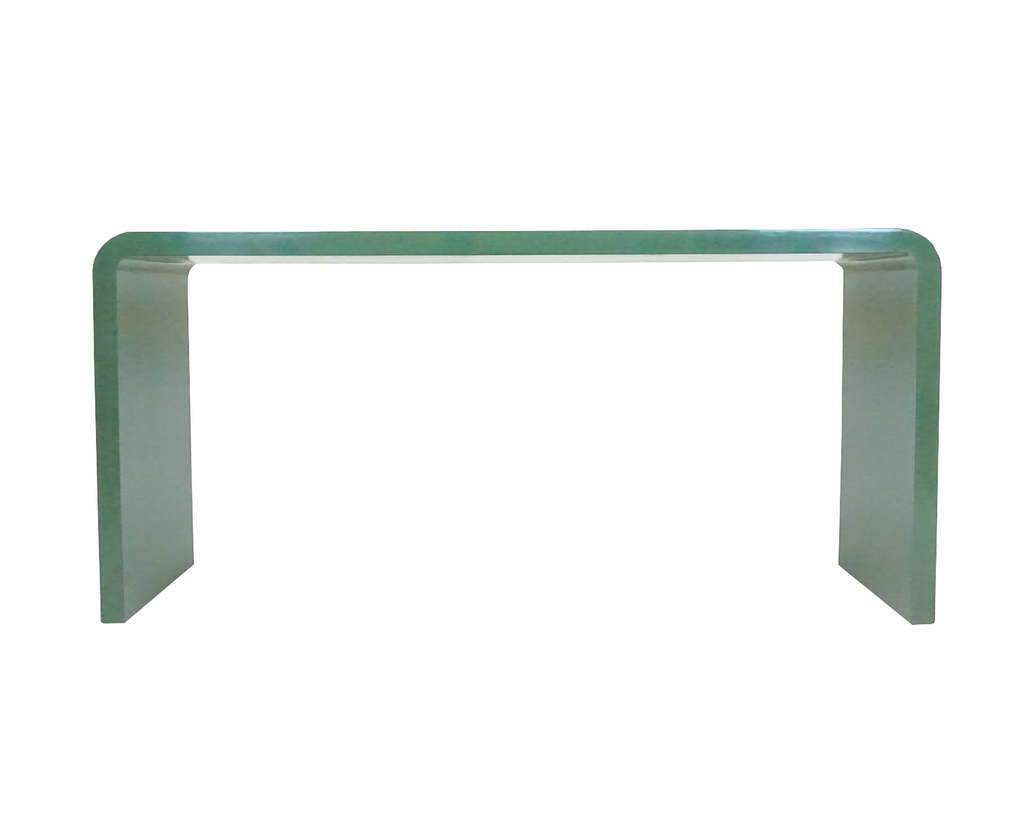 Waterfall Lacquered Console Table