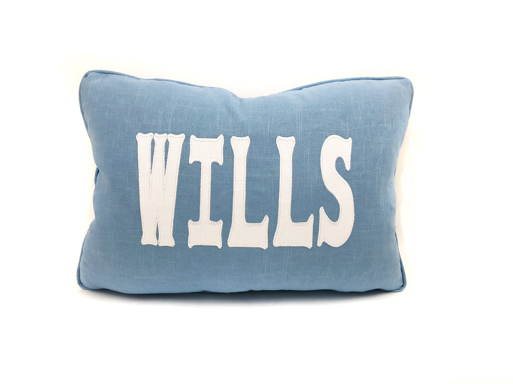 Custom Appliqué Pillow