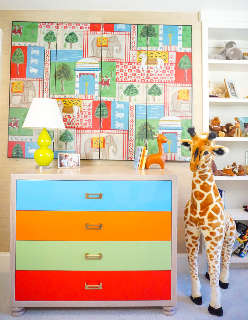Playroom Paint Deck Dresser