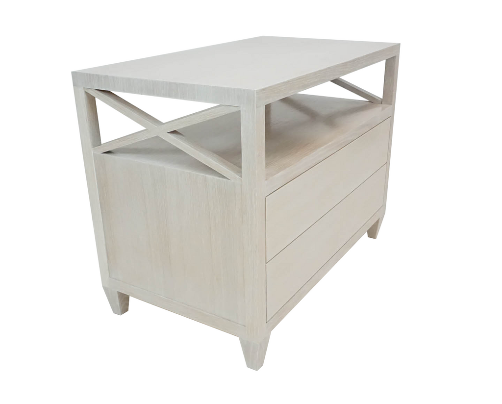 Cerused Oak Nightstand
