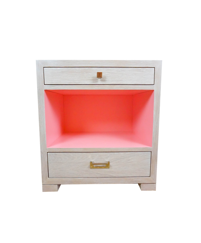 Pink Paint Deck Nightstand