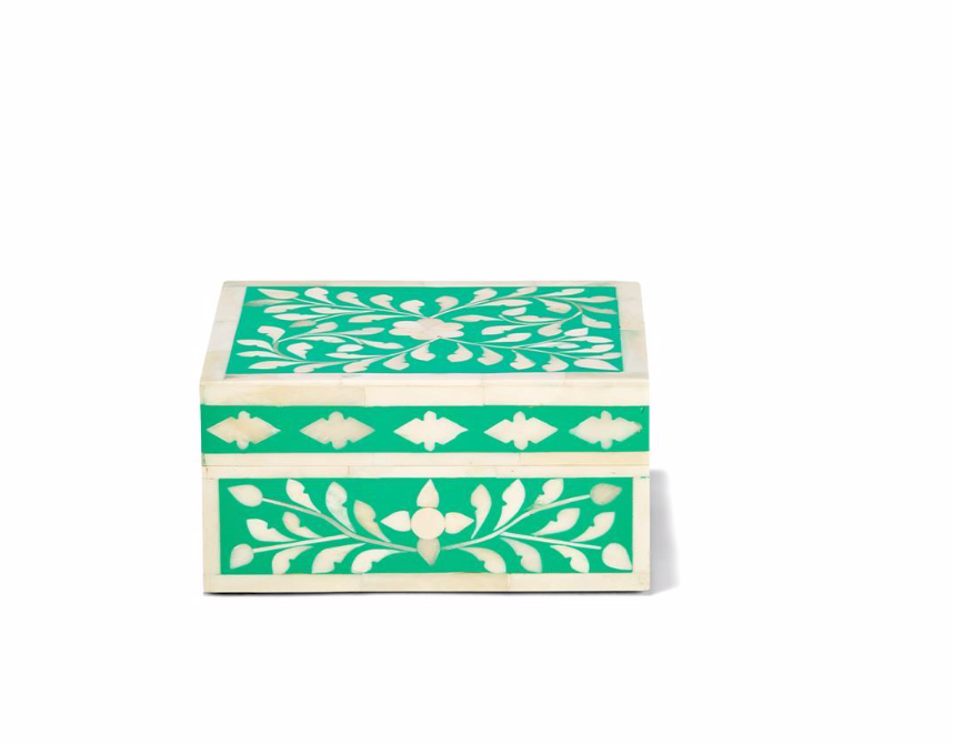 Floral Inlay Boxes