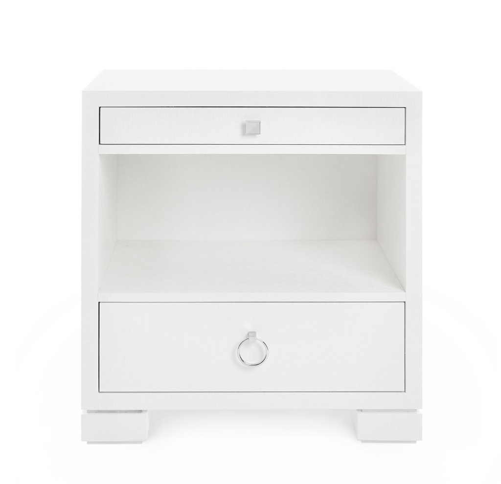 Ali 2-Drawer Side Table