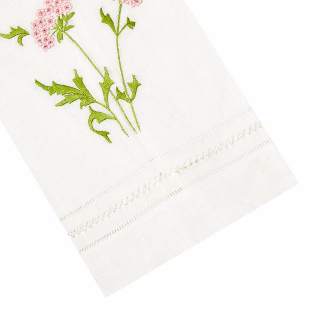 Embroidered Tip Towels