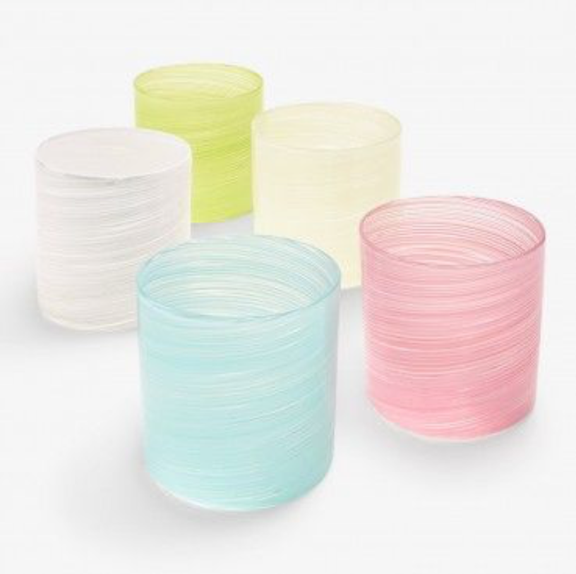 Round Twisted Tumblers