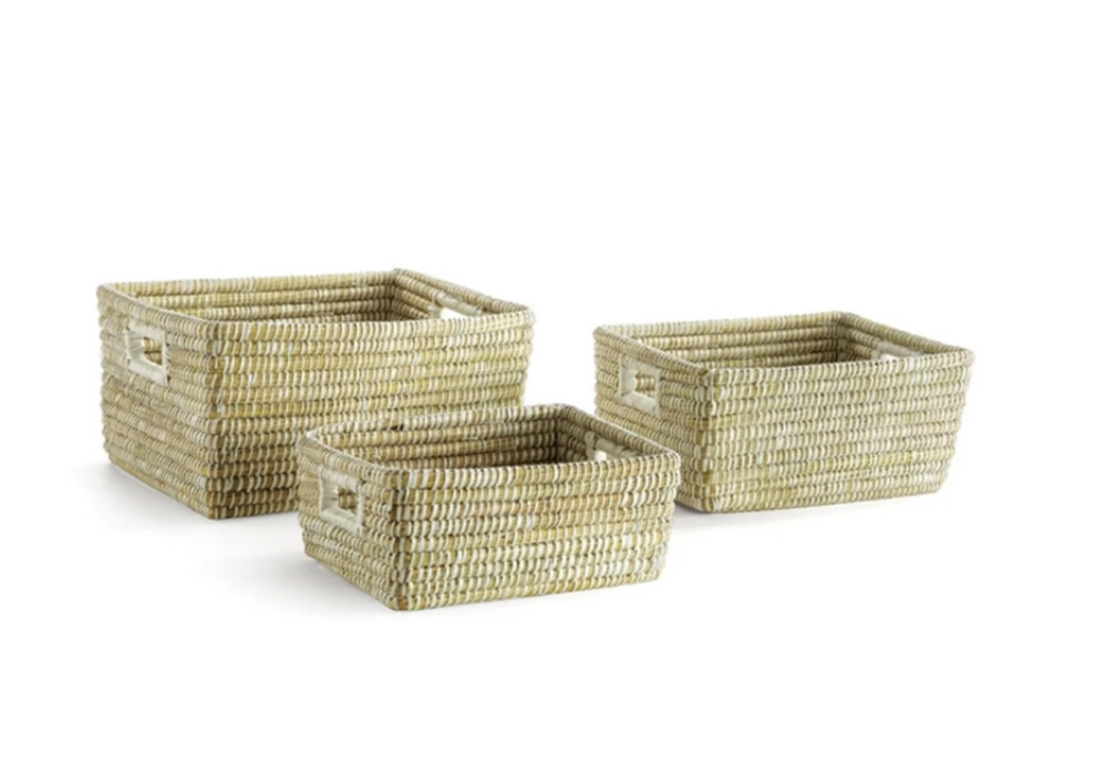 Rivergrass Rectangular Baskets
