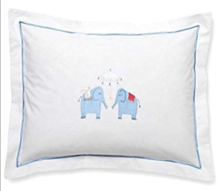 Elephant Boudoir Pillow