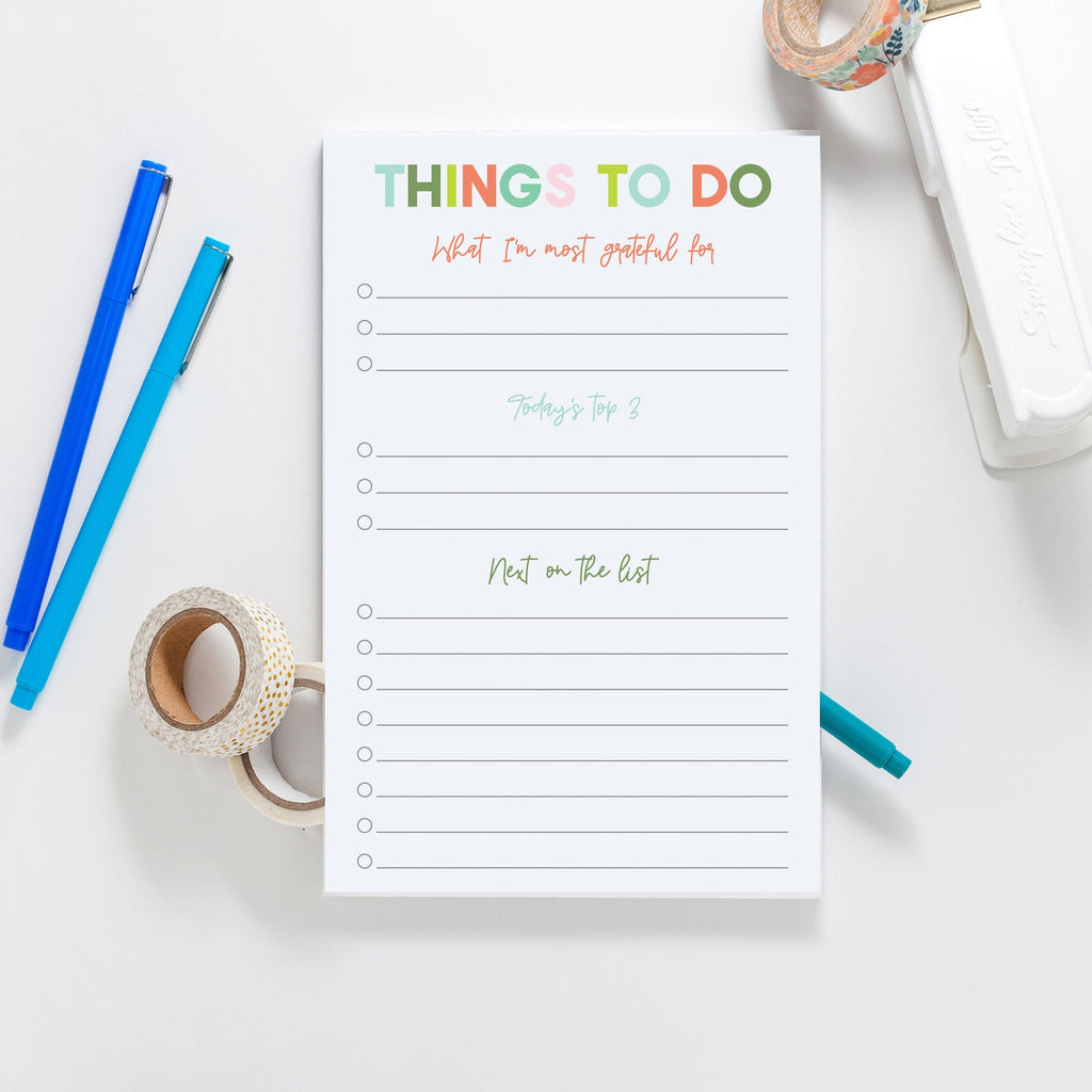 Gratitude To Do List