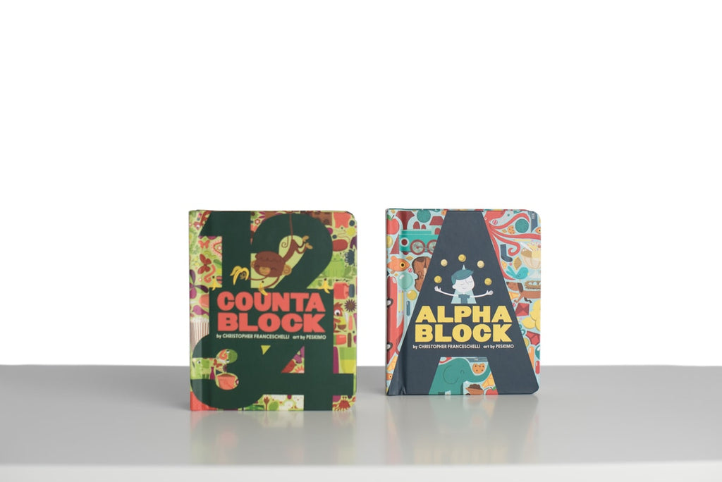 Counta Block and Alpha Block Books
