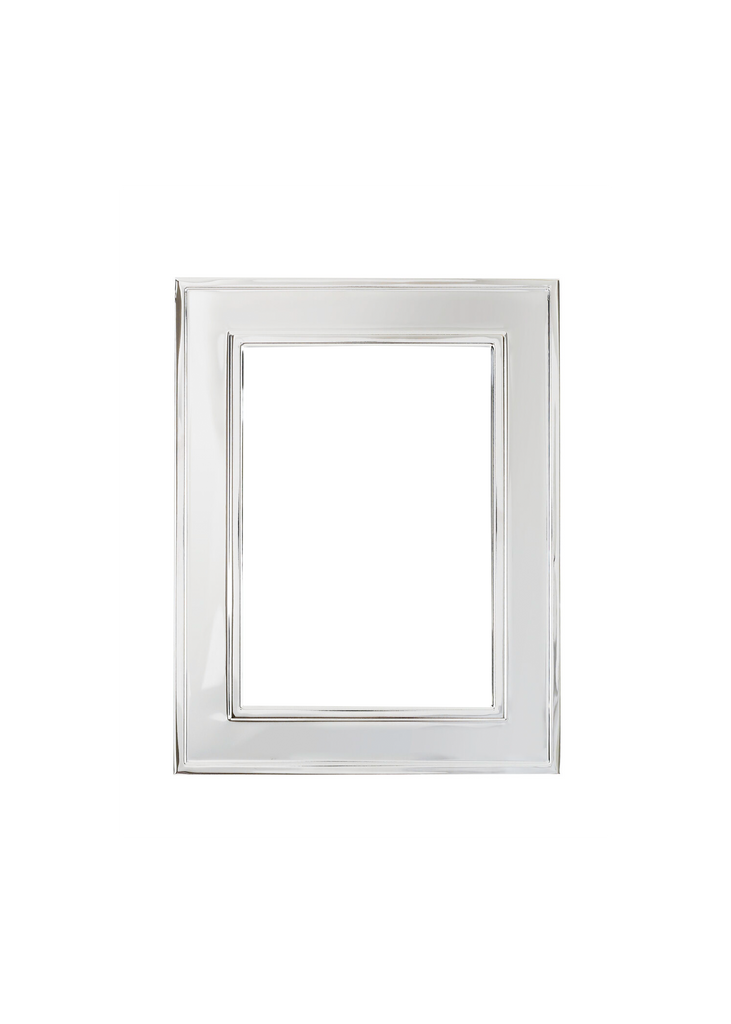 Silver Raised Edge Frame