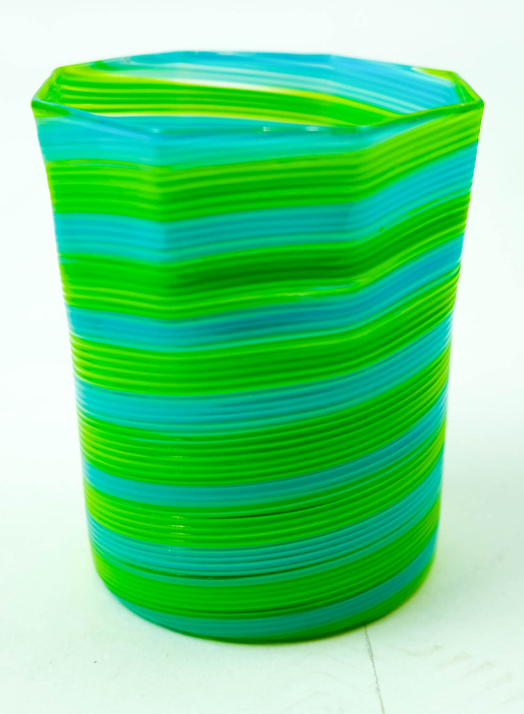 Octagonal Twisted Tumblers