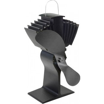 Air max 812 wood stove ecofan (black)