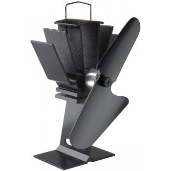 Original 800 wood stove fan (all black )