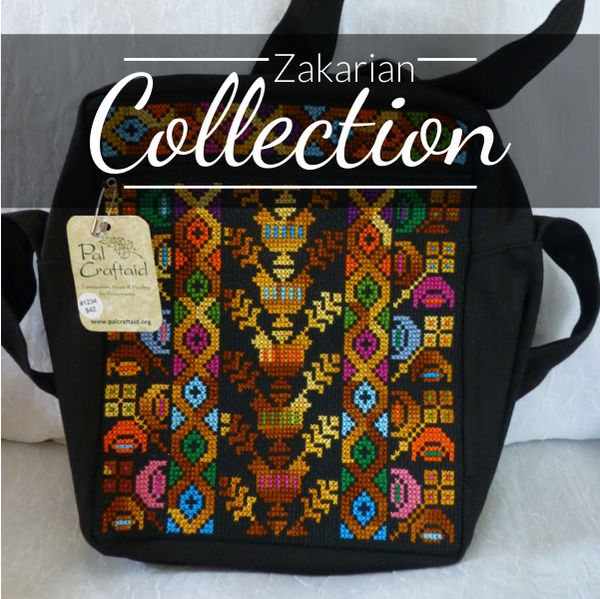 Zakarian 3 Zipper Bag