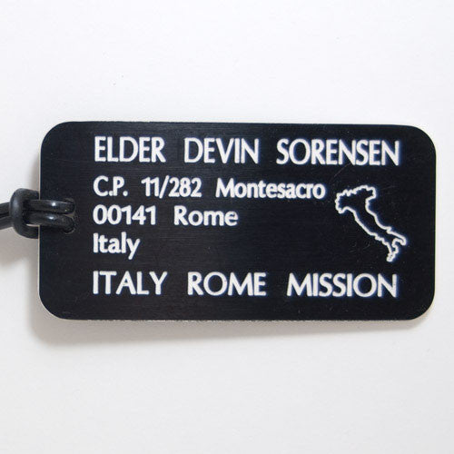 Missionary Luggage Tags
