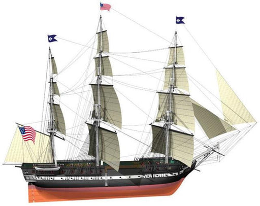 Billings Boats 508 1/100 USS Constitution