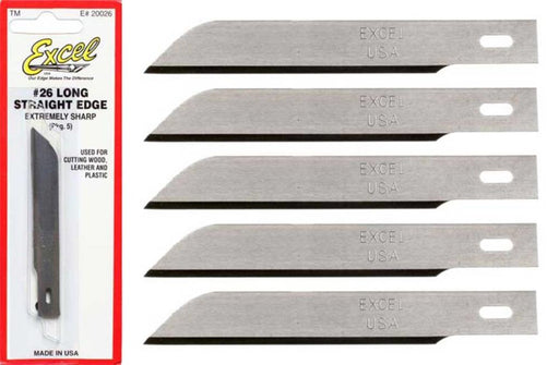 Excel Tools 20026 #2 Long Blade B26 Pk5