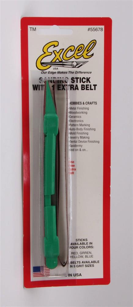 Excel Tools 55678 Sanding Stick with Spare Belt