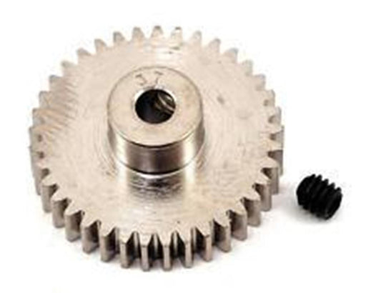 Robinsons Racing RRP1037 Nickel-Plated 48-Pitch Pinion Gear, 37T (10911156231)