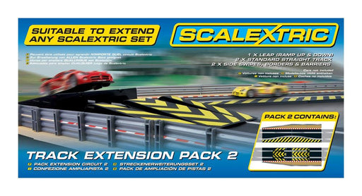Scalextric C8511 Track Ext. Pack 2 Leap/Side (10911203847)