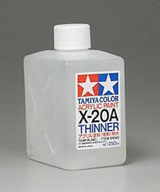 Tamiya 81040 X20A ACRYLIC THINNER 250ML
