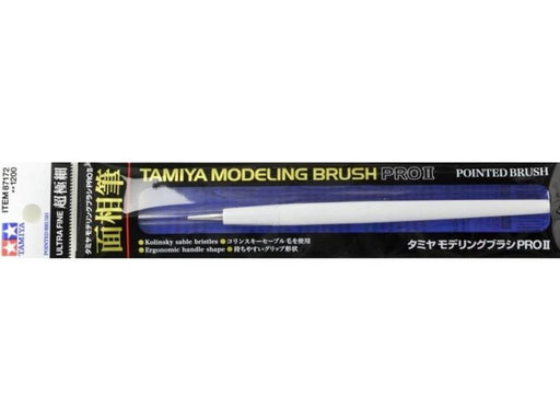 Tamiya 87172 PRO ll POINTED BRUSH U FIN