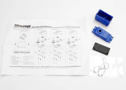 Traxxas 2074 - Servo Case/Gaskets (For 2056 And 2075 Waterproof Servos (4514669396017)
