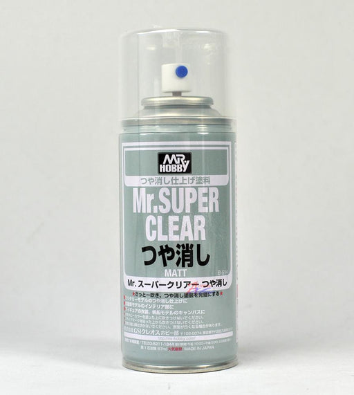 Gunze B514 Mr. Super Clear Flat 170ml Spray (1381800968241)