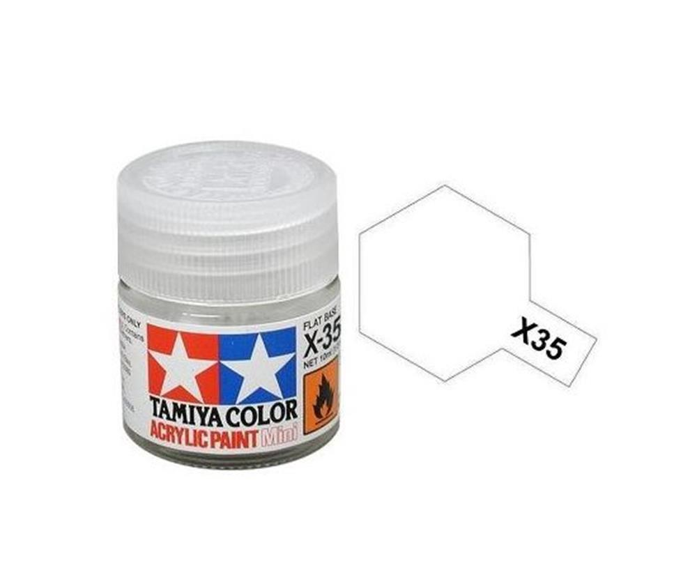 Tamiya 81535 X35 Semi Gloss Clear Acrylic Paint