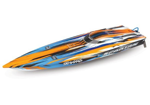 Traxxas 57076-4 - Spartan brushless speed boat with TSM (769263894577)