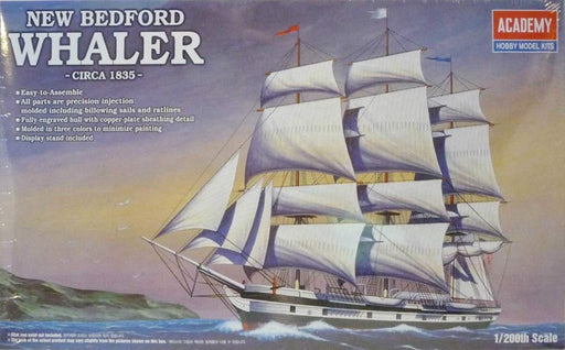 Academy 14204 (1441)1/200 NEW BEDFORD WHALER (1848462147633)