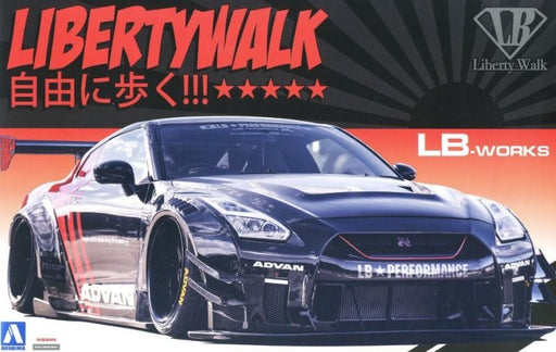 Aoshima 5592 1/24 LIBERTY WORKS R35 GT-R TYPE-2 V.2 (2118601343025)