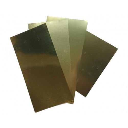 "K&S 253 Brass Sheet 0.032 x 4 x 10"" (20 Gauge) - 1 Piece (10910568199)"