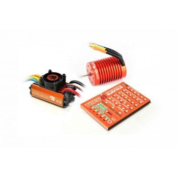 SkyRC SK-300042-05 Leopard 60A ESC and 13.0 Turn Motor Combo for 1/10 RC Cars (2050552397873)