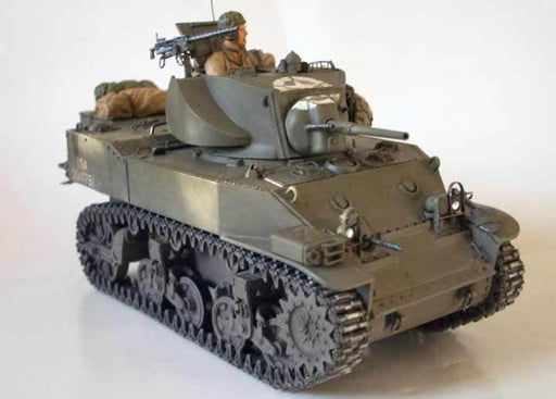 Tamiya 35313 1/35 M5A1 with 4 Figures