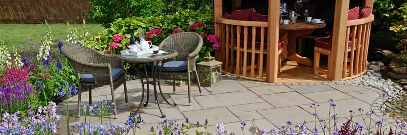 Give a tired patio or paving slabs a makeover